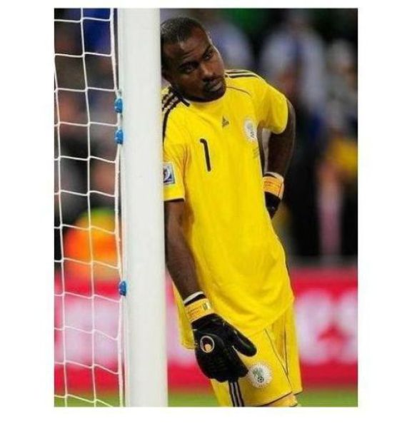 The World Cup's Calmest Soccer Player (6 pics)