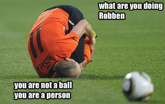 Arjen Robben Is a Ball, Your Argument Is Invalid (41 pics)