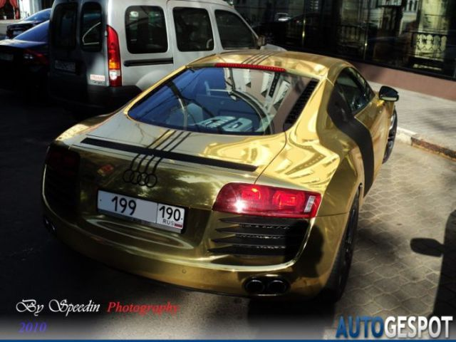 Golden Audi R8 On Sale (4 pics)