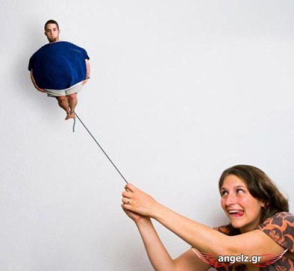 Creative and unusual photos of one pair (28 pics)