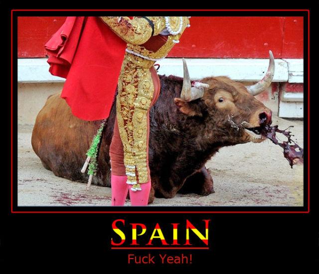 Spain  Fuck Yeah! (1 pic)
