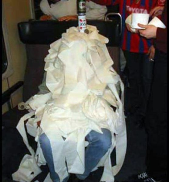 Toilet Paper Prank (26 pics)