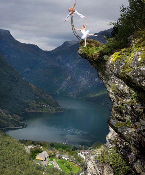 Balancing on the Edge (18 pics)