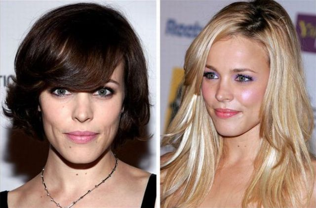How Celebrity Hair Changes (58 pics)