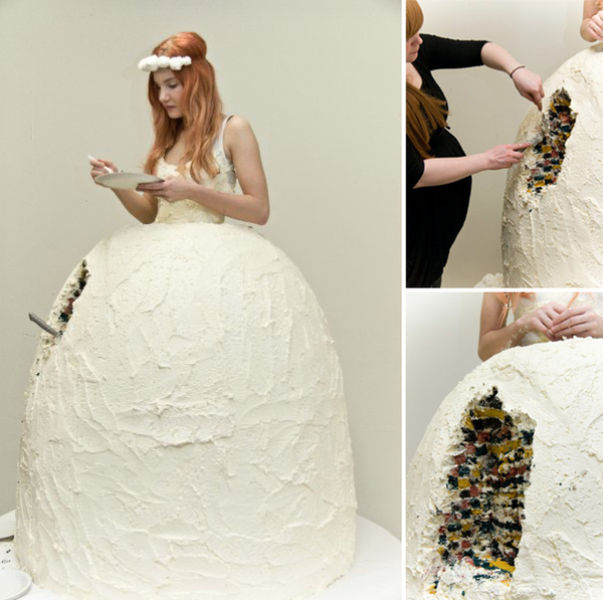 Beautiful and Unusual Wedding Dresses (38 pics)
