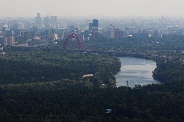 Flying Over Moscow (41 pics)