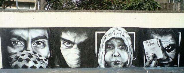 Portraits in Graffiti (58 pics)