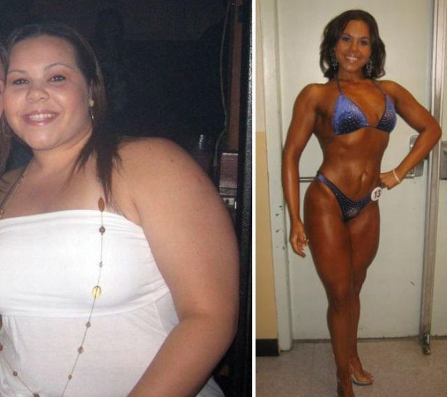 Women Body Transformation Before After