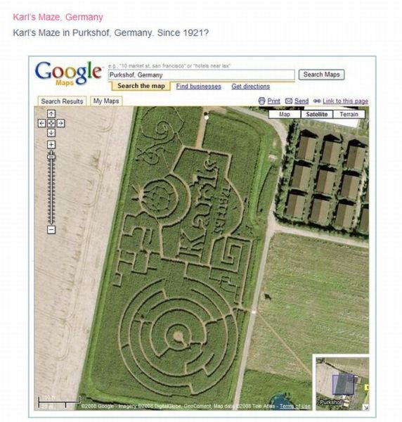 Cool Google Earth Satellite Photos (38 pics)