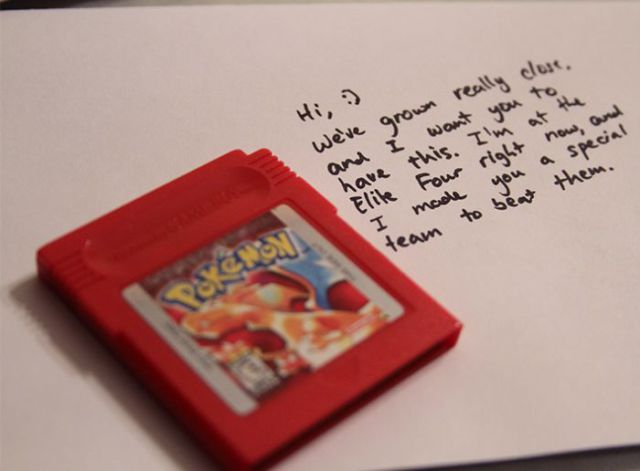 An Original Way to Ask Somebody Out on a Date (2 pics)