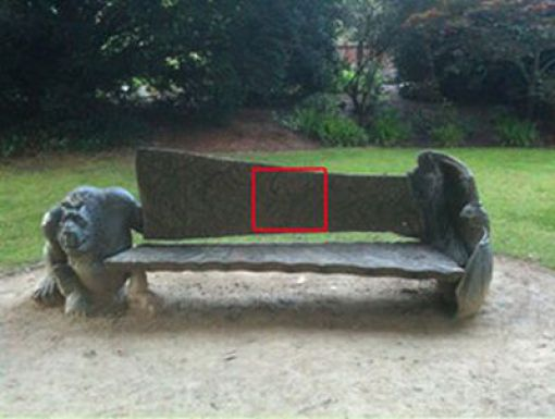 The Most Unusual Park Bench Ever (3 pics)