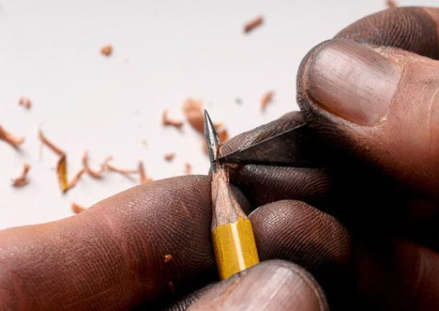 Creative Pencil Sculptures (17 pics)