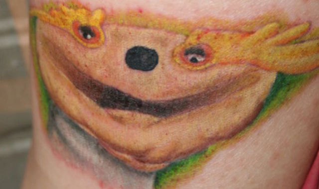 Crazy Tattoos Inspired by MTV (10 pics)