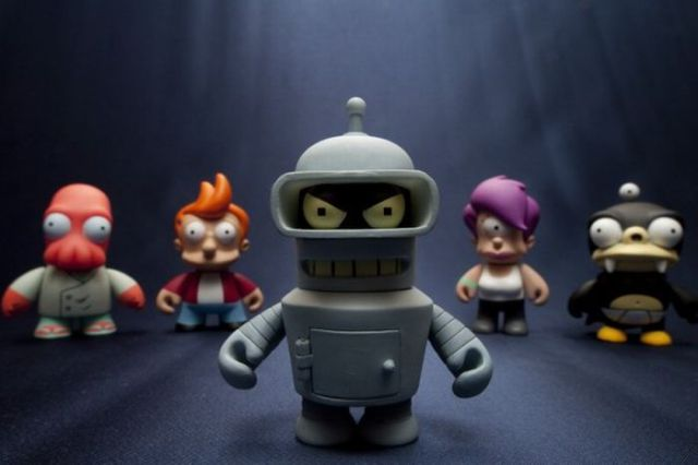 Works of Art Inspired by Futurama TV Show (39 pics)