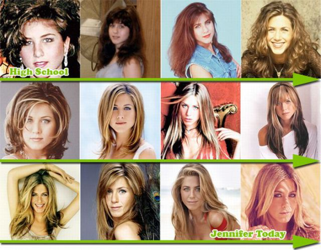 Famous Hair Transformations (12 pics)