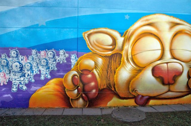 Brilliant Examples of Graffiti Art (51 pics)