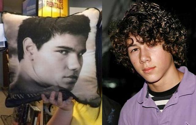 Taylor Lautner and Nick Jonas Have Twins (2 pics)