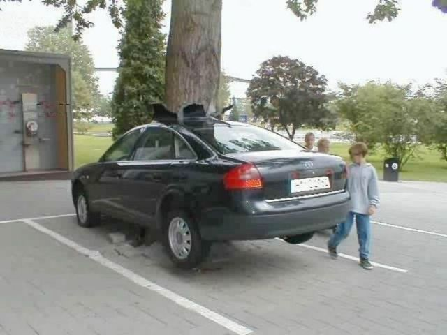 The Most Unusual Car Crashes (22 pics)