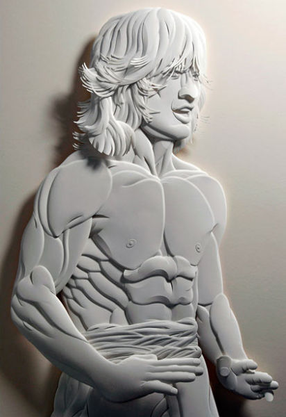 Thrilling Paper Sculptures (13 pics)
