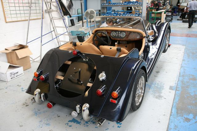 How Morgan Cars Are Made Out of Wood (24 pics)