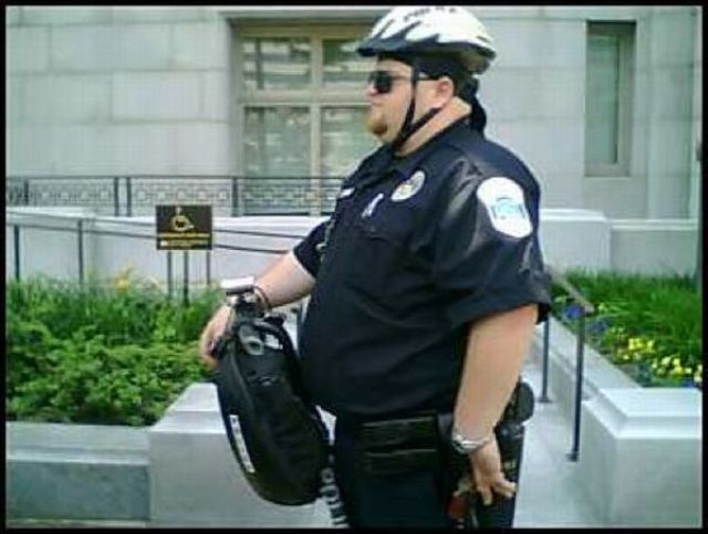 Such Fat Cops!