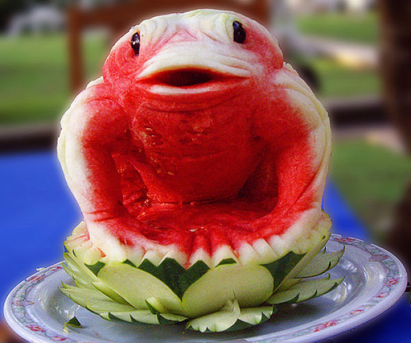Amazing Watermelon Carvings (75 pics)