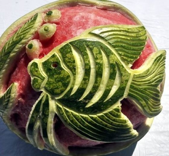 Amazing watermelon carvings pics izismile