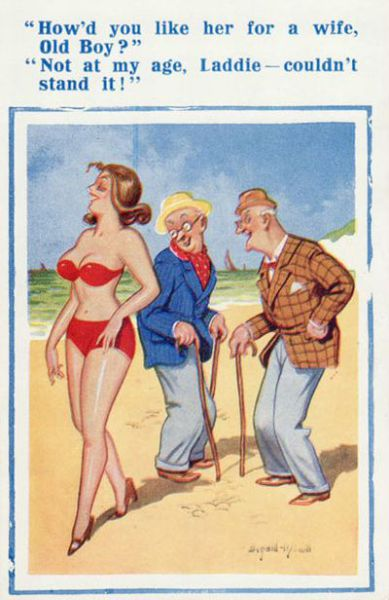 Banned Postcards (13 pics)