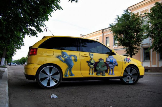 Futurama Car Tuning (12 pics)