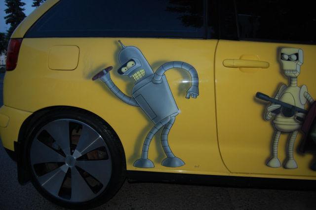 Futurama Car Tuning (12 pics)