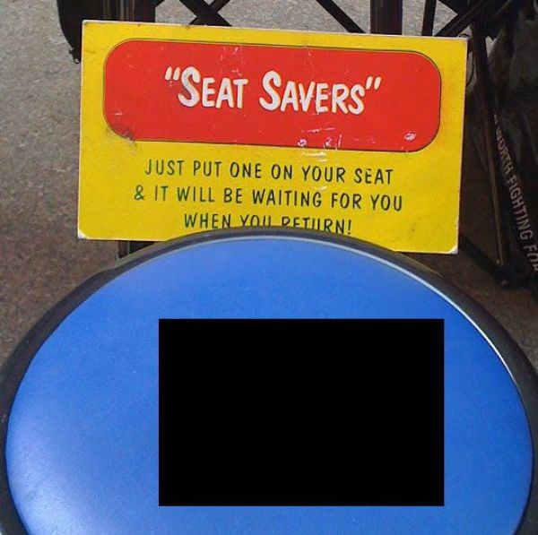 Seat Savers That Really Work (3 pics)