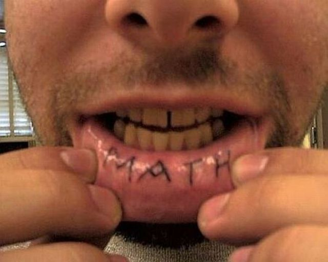 The Most Horrible Lips Tattoos Ever (10 pics)