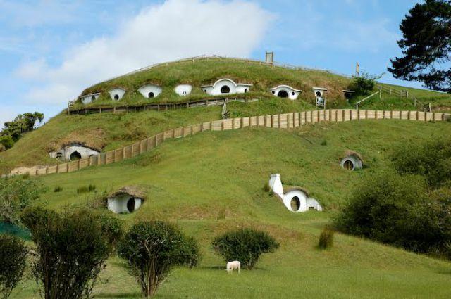 Hobbiton, for Sheep... (7 pics)