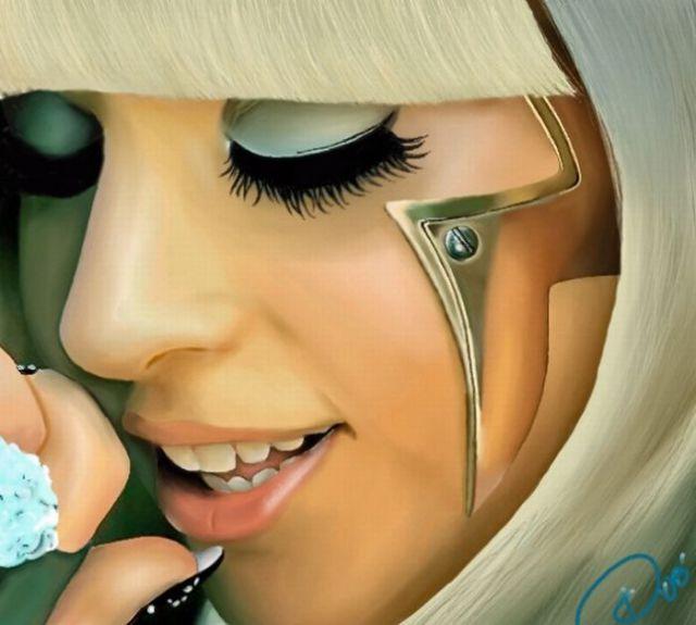 Lady Gaga, Portrayed by Fans (50 pics)