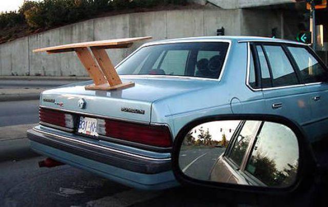 Ridiculous Car Spoilers (15 pics)