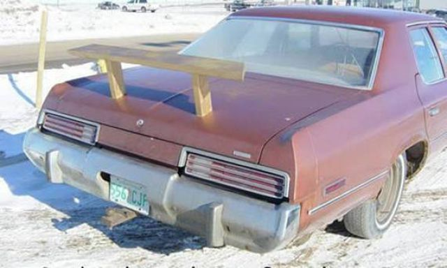 Ridiculous Car Spoilers (15 pics)