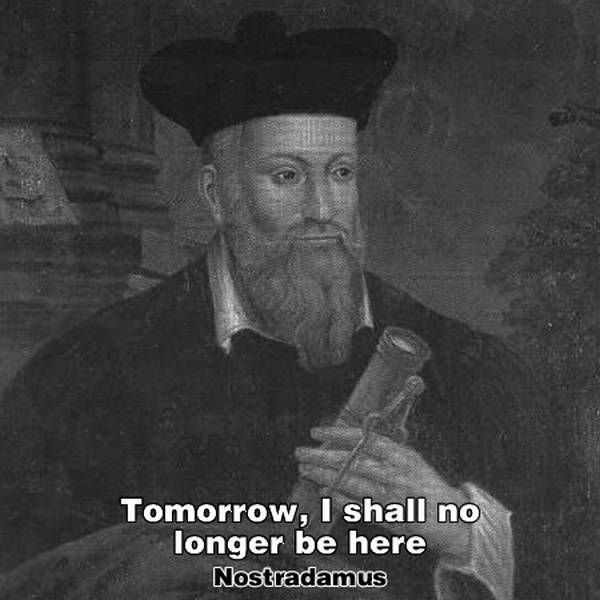 """Tomorrow, I Shall No Longer Be Here"" (20 pics)"