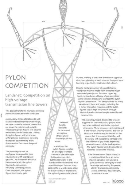 Giant Pylon Men (11 pics)