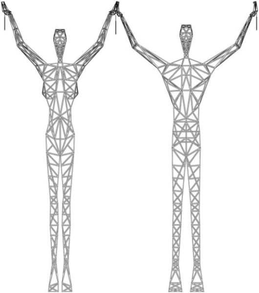 Giant Pylon Men (11 pics)