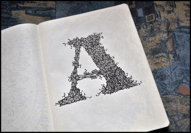 Beautiful Sketchbook Drawings (21 pics)