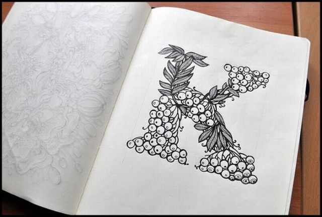 Beautiful Sketchbook Drawings (21 pics)