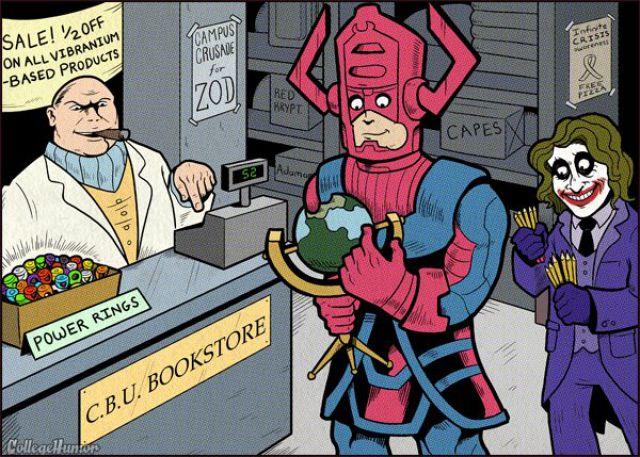 Life in a Superhero Campus (7 pics)