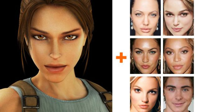 Celebs Starring in Computer Games (17 pics)