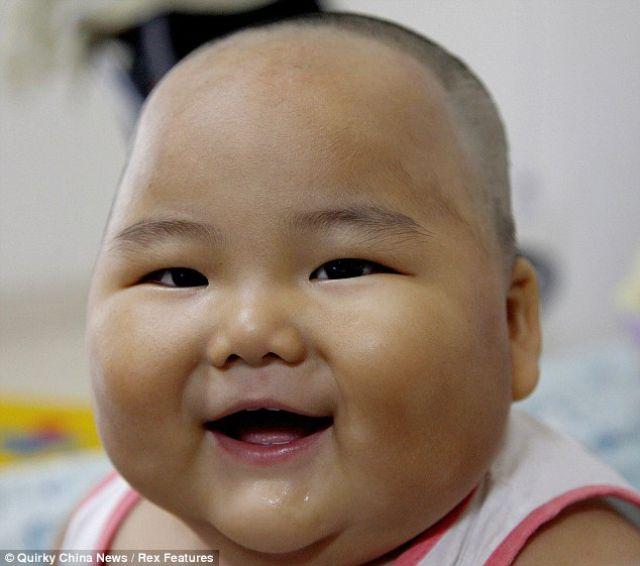 Chinesen Baby