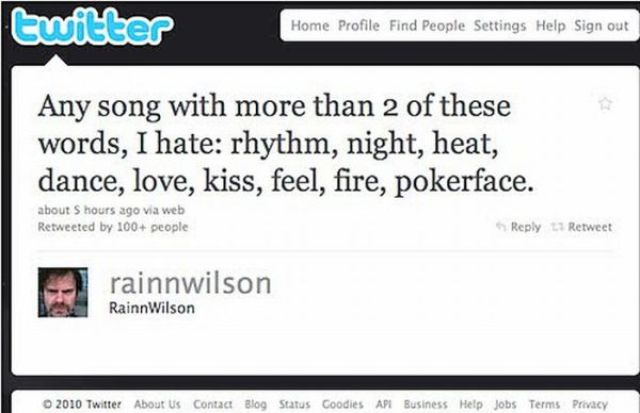 Humorous Celebrity Tweets (25 pics)