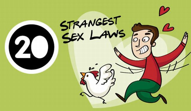 Weird Sex Laws from Different Corners of the World (1 pic)