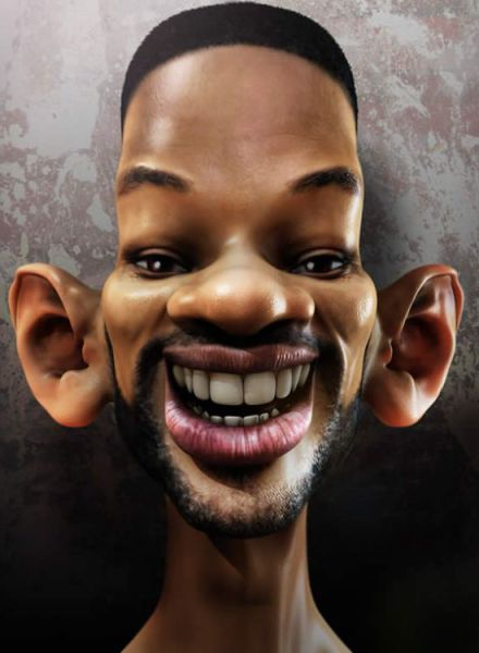 Amazing Caricatures of Celebrities (50 pics)