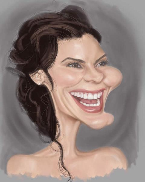 Amazing Caricatures of Celebrities (50 pics)