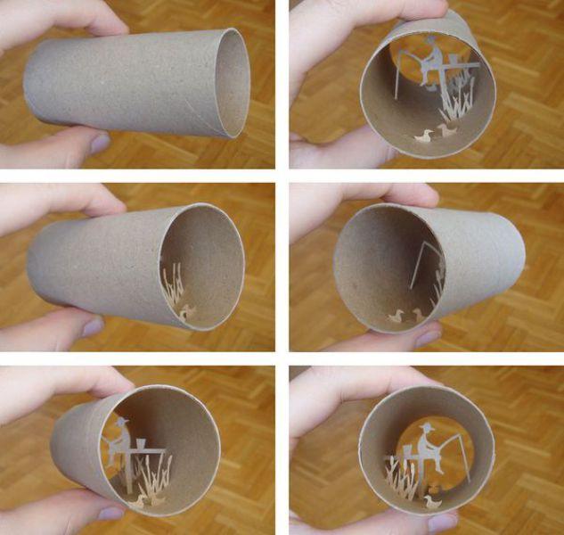 Amazing Toilet-Paper Tubes Art (36 pics)