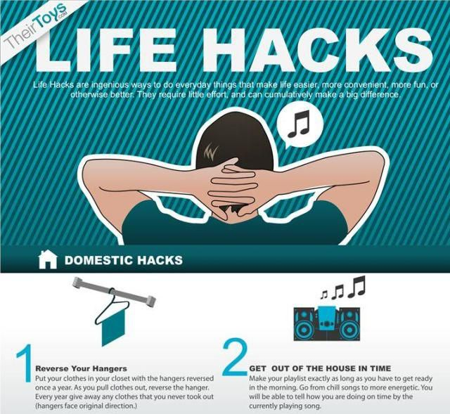 Life Hacks You Might Want to Know (1 pic)